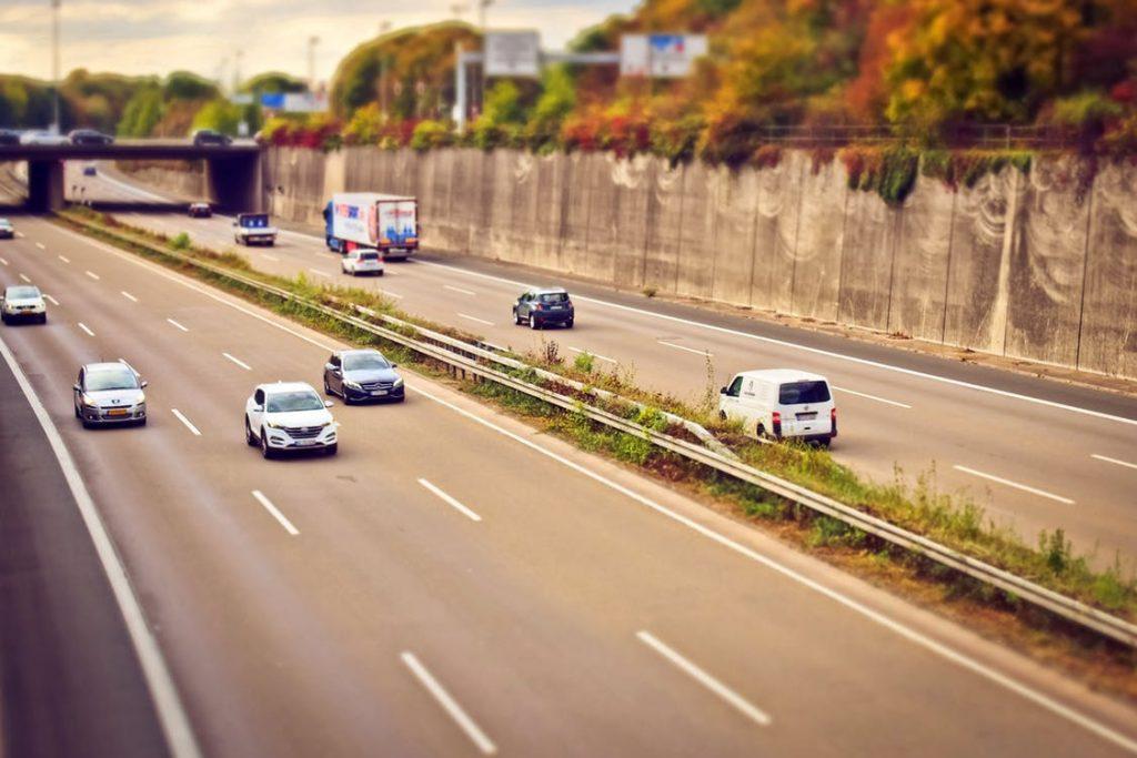 Rückwärts fahren mit Transporter